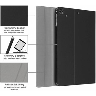 Merkloos Zwart Magnetically Detachable / Wireless Bluetooth Keyboard hoes met toetsenbord voor Apple iPad (2018) / Air 1 / 2 / iPad Pro 9.7 inch / iPad 2017