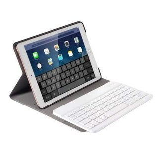 Merkloos Goud Magnetically Detachable / Wireless Bluetooth Keyboard hoes met toetsenbord voor Apple iPad (2018) / Air 1 / 2 / iPad Pro 9.7 inch / iPad 2017