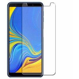 Merkloos Samsung Galaxy A7 (2018) Tempered glass /Beschermglas Screen Protector