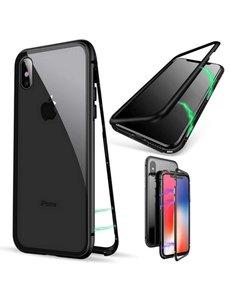 Merkloos Magnetisch iPhone Xs Max hoesje - ZWARTE - voor iPhone Xs Max