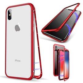 Ntech Ntech Magnetisch iPhone Xs Max  hoesje - ROOD - voor iPhone Xs Max