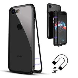 Merkloos Magnetisch iPhone 8+ / 7+  hoesje - ZWARTE - voor iPhone 8+ / 7+ (plus versie)