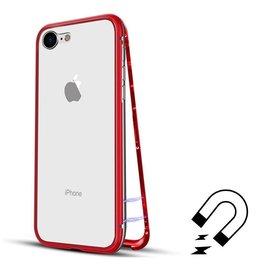 Ntech Ntech Magnetisch iPhone 8+ / 7+  hoesje - ROOD - voor iPhone 8+ / 7+ (plus versie)