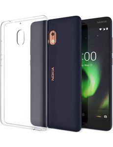Merkloos Nokia 2.1 Transparant lichte TPU ultra clear Hoesje
