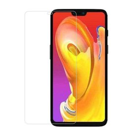 Merkloos OnePlus 6T Screen Protector-9H HD clarity Hardness Tempered Glass