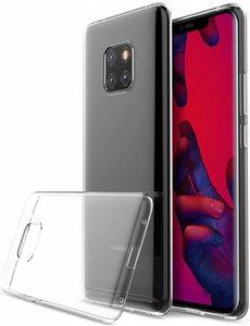 Merkloos Huawei Mate 20 Pro Transparant TPU Back hoesje