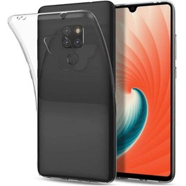 Merkloos Huawei Mate 20 Transparant Hoesje Durable Flexible & Scratch Resistent Clear TPU Case