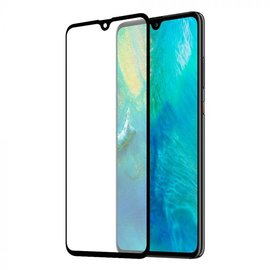 Merkloos Huawei Mate 20 full cover Screen Protector-9H HD clarity Hardness Tempered Glass Zwart