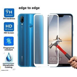 Merkloos Huawei P20 Pro full cover Screen Protector-9H HD clarity Hardness Tempered Glass Black