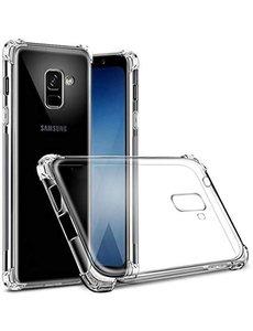 Merkloos Samsung Galaxy J6+ Plus 2018 Anti Shock Back hoesje