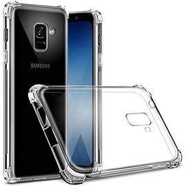 Merkloos Samsung Galaxy J6+ Plus 2018 Transparent Anti Burst Hoesje / Shock Proof Crystal Clear TPU Case