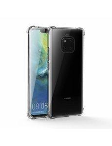 Merkloos Huawei Mate 20 Pro Anti Shock Back hoesje