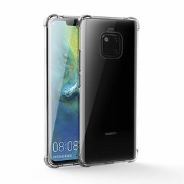 Merkloos Huawei Mate 20 Pro Transparent Anti Burst Hoesje / Shock Proof Crystal Clear TPU Case