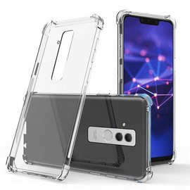 Merkloos Huawei Mate 20 Lite Transparent Anti Burst Hoesje / Shock Proof Crystal Clear TPU Case