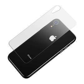 Ntech Ntech iPhone Xr Tempered Glass Back Cover Screen Protector