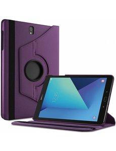Samsung Galaxy Tab S3 9.7 (SM-T820/T825) hoesje 360° draaibaar Paars