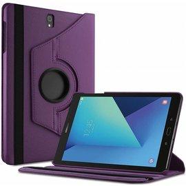 Samsung Galaxy Tab S3 9.7 (SM-T820/T825) hoesje Case Cover 360° draaibaar Multi stand Paars