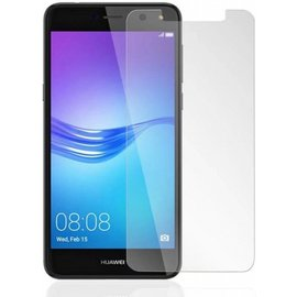 1 + 1 Gratis - Huawei Y6 2017 glazen Screen protector Tempered Glass 2.5D 9H (0.3mm)