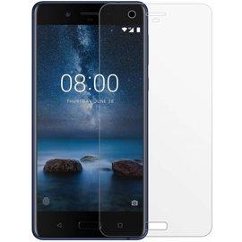 1 + 1 Gratis - Nokia 7 glazen Screen protector Tempered Glass 2.5D 9H (0.3mm)