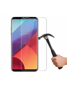 1 + 1 Gratis - LG V30 / V30S glazen Screenprotector Tempered Glass (0.3mm)