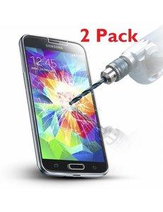 2 Pack - Samsung Galaxy S5 mini Glazen tempered glass / Screenprotector