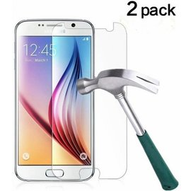 2 Pack - Samsung Galaxy S6 Glazen tempered glass / screen protector