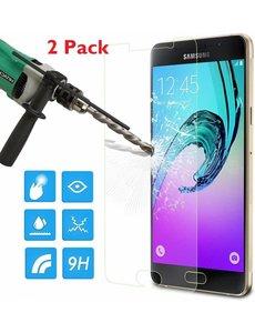 2 Pack - Samsung Galaxy A5 2016 Glazen tempered glass / Screenprotector