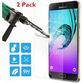 2 Pack - Samsung Galaxy A5 2016 Glazen tempered glass / screen protector