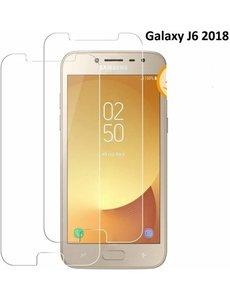 2 Stuks Samsung Galaxy J6 (2018) Tempered glass /Beschermglas Screenprotector