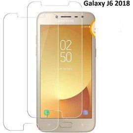 2 Stuks Samsung Galaxy J6 (2018) Tempered glass  /Beschermglas Screen Protector