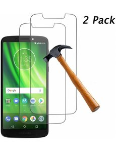 2 Pack - Motorola Moto G6 Play Beschermglas Screenprotector / Tempered Glass Screen