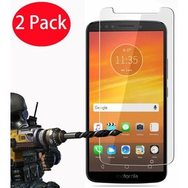 2 Pack - Motorola Moto E5 Screen Protector / Tempered Glass Screen