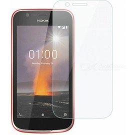 2 Pack - Nokia 1 Beschermglas Screen Protector / Glazen Tempered Glass