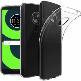 Ntech Ntech Motorola Moto G6 Plus Transparant TPU Siliconen hoesje