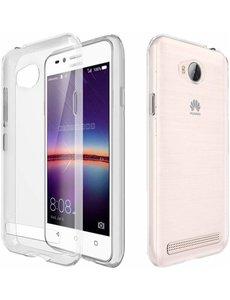 Ntech Ntech Huawei Y3II Transparant Siliconen Ultra Thin hoesje