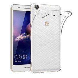 Ntech Ntech Huawei Y6 - || Transparant Siliconen Ultra Thin hoesje