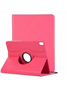 Ntech Ntech Apple iPad Pro 11 inch hoesje 360° Rotating hoesje Case + 4 in 1 Styuls Pink