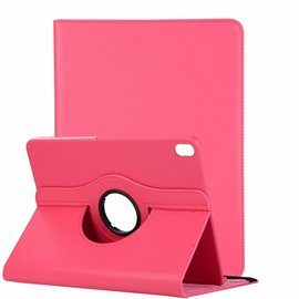 Ntech Ntech Apple iPad Pro 11 inch hoesje 360° Rotating  Multi stand Hoes Case + 4 in 1 Styuls Pink