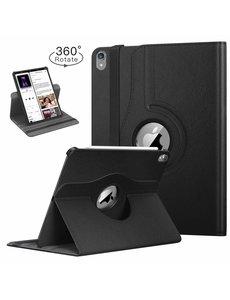 Ntech Ntech Apple iPad Pro 11 inch hoesje 360° Rotating hoesje Case + 4 in 1 Styuls Zwart