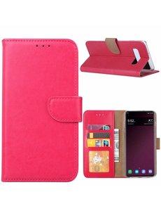 Ntech Ntech Portemonnee Hoesje voor Samsung Galaxy S10 - Pink