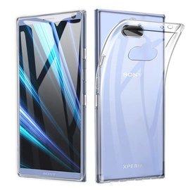 Ntech Ntech Sony Xperia XA3 Transparant Hoesje Durable Flexible & Scratch Resistent Clear TPU Case