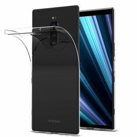 Ntech Ntech Sony Xperia XZ4 Transparant Hoesje Durable Flexible & Scratch Resistent Clear TPU Case