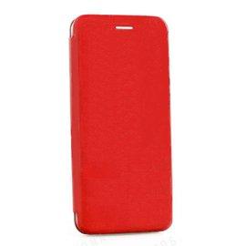 Ntech Ntech Samsung Galaxy S10 Plus Luxe Rood TPU / Kunststof Flip Cover met Magneetsluiting