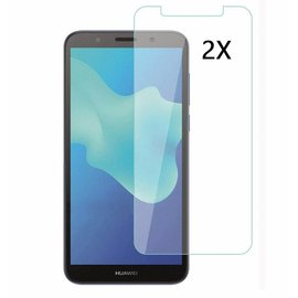 Ntech Ntech 2Pack Huawei Y5 lite (2018)Screen Protector-9H HD clarity Hardness Tempered Glass