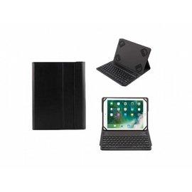 Ntech Zwart Magnetically Detachable / Wireless Bluetooth Keyboard hoes voor Apple iPad 9 -10 inch modellen