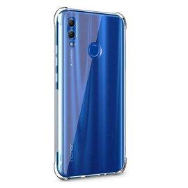 Ntech Ntech Huawei P Smart 2019 Transparent Anti Burst Hoesje / Shock Proof Crystal Clear TPU Case