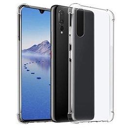 Ntech Ntech Huawei P30 Transparent Anti Burst Hoesje / Shock Proof Crystal Clear TPU Case