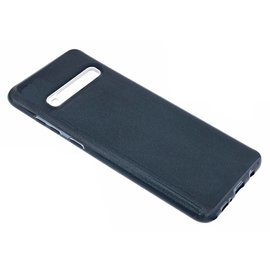 Ntech Ntech Samsung Galaxy S10 Zwart Glitter TPU Back Cover Hoesje
