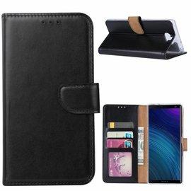 Ntech Ntech Hoesje voor Sony XA3 Ultra portemonnee hoesje / met opbergvakjes Zwart