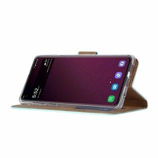 Ntech Ntech Samsung Galaxy S10E Smile Design Booktype Kunstleer Hoesje Met Pasjesruimte